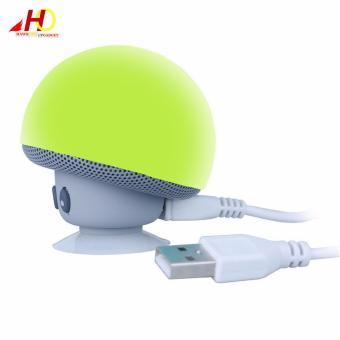 Portable Mini Mushroom Wireless Bluetooth Speaker (Green) - 4