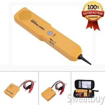 Portable RJ11 Network Cable Tester Toner Wire Tracker Tone Line Finder Detector Networking Tool - intl