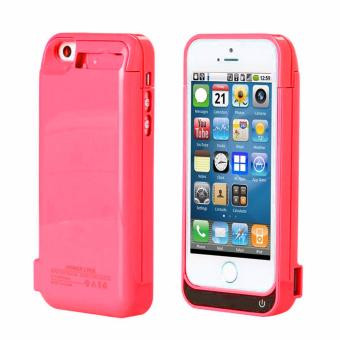 Power Case Mobile Casing 4200 mAH Powerbank Battery Extension for Apple Iphone 5/5SE/5S/5C (Red)