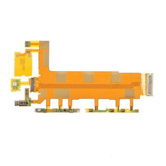 Power On Off Volume Button Switch Flex Cable for Sony Xperia Z3D6603 D6643 D6653 - intl
