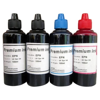 Premium Dye Ink for Epson Set of 4 (Black/Cyan/Magenta)