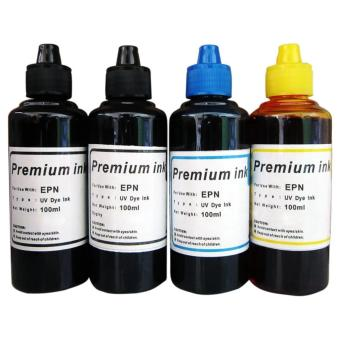 Premium Dye Ink for Epson Set of 4 (Black/Cyan/Yellow)