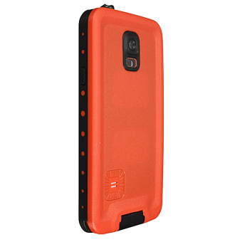 Premium Waterproof Shockproof Dirt Proof Case Cover for Samsung Galaxy S5 Orange