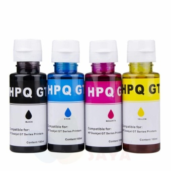 Printer ink Tank refill ink kit for HP DeskJet GT5810 GT5820 GT51 GT52 (Black ,Yellow, Magenta, Cyan) - intl