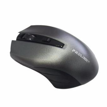 Prolink PMW6002 Wireless 2.4Gh USB Optical Mouse (Silver) Price Philippines