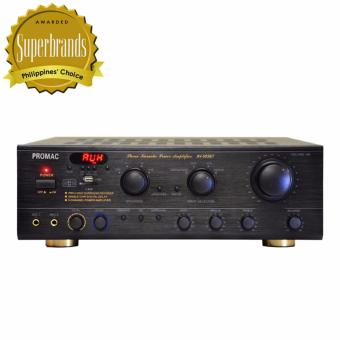 Promac AV-503BT Karaoke Power Amplifier (Black) Price Philippines