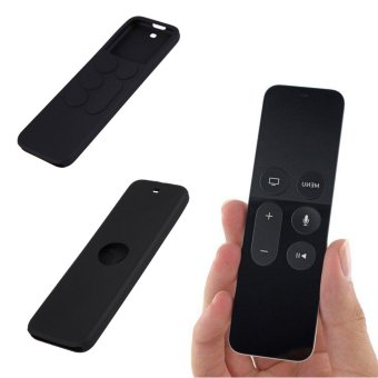 Protective Dustproof Case Silicone Cover for Apple TV 4 Remote Control - intl - 2