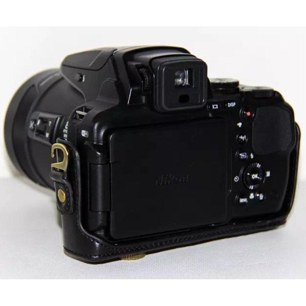 pu leather camera bag case cover for nikon coolpix p900s p900digital camera bag - intl ...