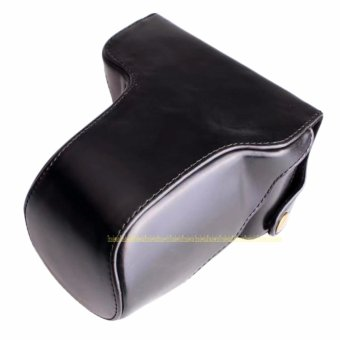 PU Leather Camera Bag Case For Fujifilm Fuji X-A10 XA10 With Strap - intl - 2