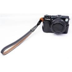 PU Leather Camera Bottom Case Half Body Set Cover ForCanonPowershotG1X Mark II G1X M2 G1X2 G1X