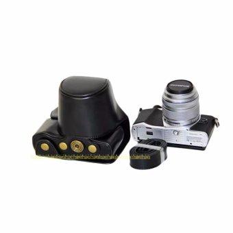 PU Leather Camera Case Bag for OLYMPUS EM10II E-M10 MarkII - intl - 3