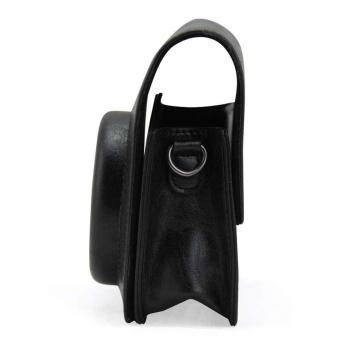 PU Leather Camera Case Bag Holder For Fuji FUJIFILM Instax Mini90Black - intl - 2