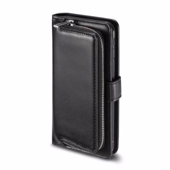 PU Leather Wallet Case Cover Pouch Bag for Samsung Galaxy S8 Plus - intl