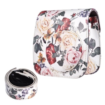 PU Protective Instant Camera Case Bag Pouch Protector with Strapfor Fujifilm Instax Mini 8+/8s/8/9 - intl