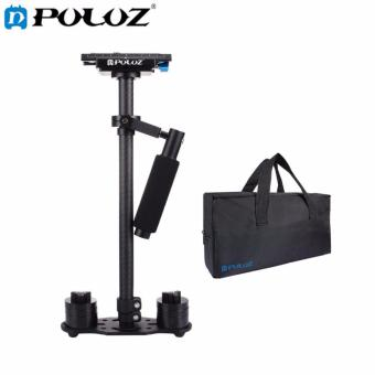 PULUZ S60T 38.5-61cm Carbon Fibre Handheld Stabilizer Steadicam ForDSLR and DV Digital Video and Cameras, Capacity Range0.5-3kg(Black) - intl Price Philippines