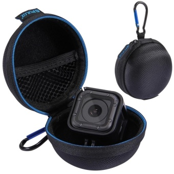 PULUZ Super Mini Storage Case Box With Carabine For GoPro HERO5 Session /4 Session(Black) - intl Price Philippines