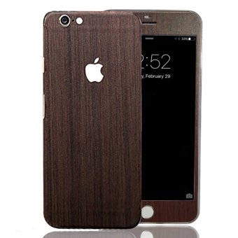 PVC Full Body Skin Sticke DIY Front Back Cover Film for Apple iPhone 6(S) Plus (Wood) Price Philippines