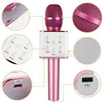 Q7 Wireless Bluetooth Microphone & HIFI Speaker