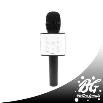 Q7 Wireless Bluetooth Microphone & HIFI Speaker (Gold/White) - 2