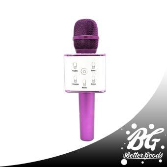 Q7 Wireless Bluetooth Microphone & HIFI Speaker (Gold/White) - 4