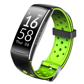 Q8 Wristband Heart Rate Blood Pressure Monitor Smart Watch IP68Water Proof Fitness Tracker For Android And IOS Phone - intl