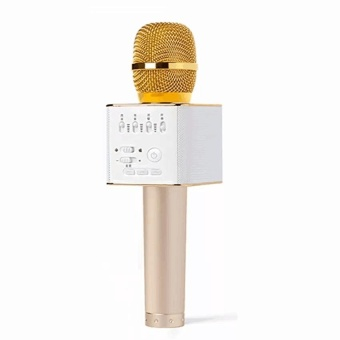 Shopping Q9 Bluetooth Wireless Microphone With Super Bass Portable Speakerwith Free Samsung In-Ear Earphones EO-IG955 For Samsung S8 / S8+ /Smartphone made ...