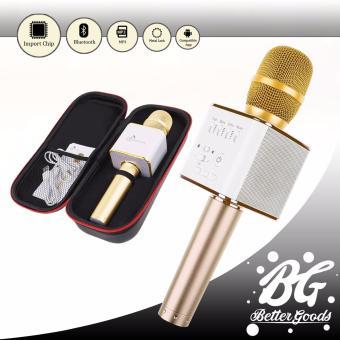Q9 Wireless Bluetooth Karaoke Microphone Speaker