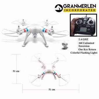 QUADCOPTER 2.4GHZ 6-AXIS GYRO R/C Drone With 2MP Camera (White)