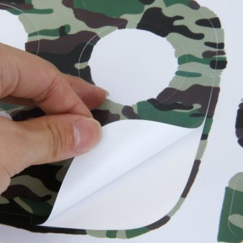 Quadcopter & Remote Controller Skin Decal Sticker For DJIPhantom 3 - 5