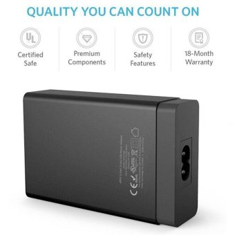 Qualcomm Certified Quick Charge 3.0 Tronsmart 5-Port USB WallCharger - intl