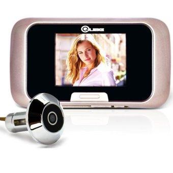 Qube Basic Digital Peephole Manual-Solution for Home Security