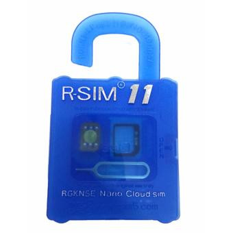 R-SIM MR-11 The Best Unlock and Activation SIM for iPhone4S/5/5C/5S/6/6Plus/7/7Plus (Gold) Price Philippines