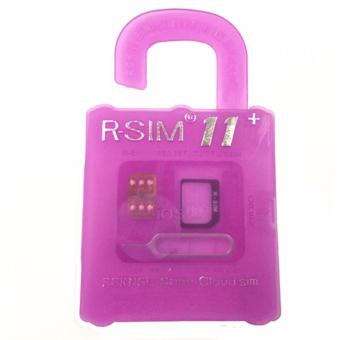R-SIM RS-11+ The Best Unlock and Activation SIM for iPhone4S/5/5C/5S/6/6Plus/6S/6sPlus7/7Plus (Gold) Price Philippines