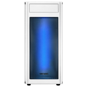 RAIDMAX ALPHA ATX WHITE Gaming Casing (Front Panel RGB Led Light)
