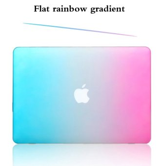 Rainbow Colorfu Protective Tablet Case For Apple Mac-book 13.3 Inchair (Blue-purple)
