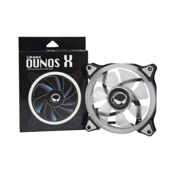 Rakk Ounos X 120mm Eclipse White Led Fan
