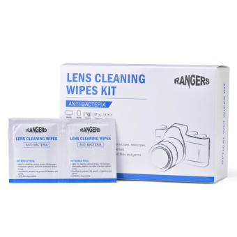 Rangers 100 Pre-Moistened Lens Wipes Ideal Glasses Camera CleaningWipes RA102 - intl Price Philippines