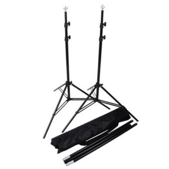 RANWD 2 x 3m 6.5FT Professinal Photography Background BackdropsSupport System Stands Studio With Carry Bag - intl - 5
