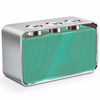Rapoo A600 Portable Bluetooth NFC Speaker (Green/Silver) - 3