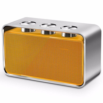 Rapoo A600 Portable Bluetooth NFC Speaker (Yellow/Silver)