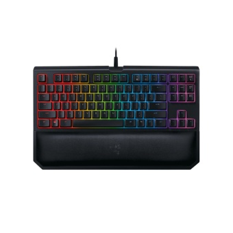 Razer Blackwidow Tournament Edition Chroma V2 RGB Mechanical Keyboard - Razer Orange (Silent) Switches
