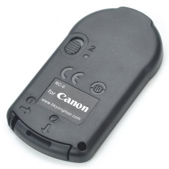 RC-6 Slim IR Shutter Remote for Canon Digital Cameras Black
