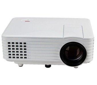 RD805 Mini LED Home Portable Projector (White)