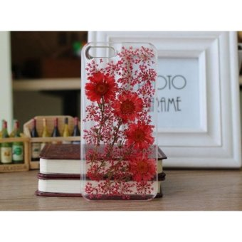 Real Flower Phone Case Iphone 6plus/6s plus 5.5 Inch - intl