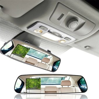 Rear View Mirror Camcorder DVR (Black)