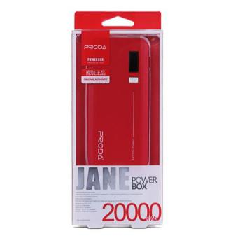 Remax Proda Jane 20000mAh Power Bank (Red) - 4