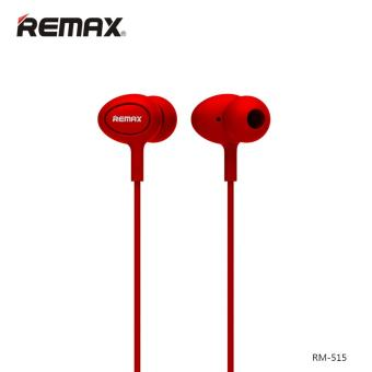 Remax RM-515 In-Ear Headset with Mic and Control (Red)
