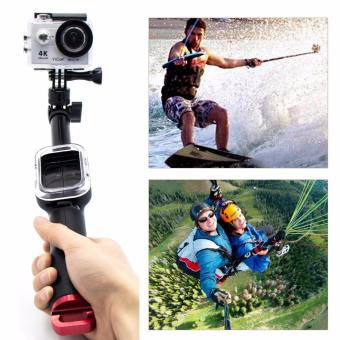 Remote control selfie stick Remote Pole Handheld Monopod With WIFIRemote Housing Mount+Tripod Mount Adapter For Xiaoyi Go pro Hero3+4 5 Sport Camera Accessories