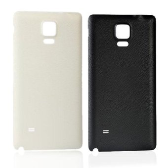 Replacement Battery Rear Case Door Cover For Samsung Galaxy Note 4Black - intl