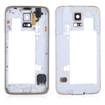 Replacement Middle Frame Bezel Housing Rear Backplate For SamsungGalaxy S5 - intl